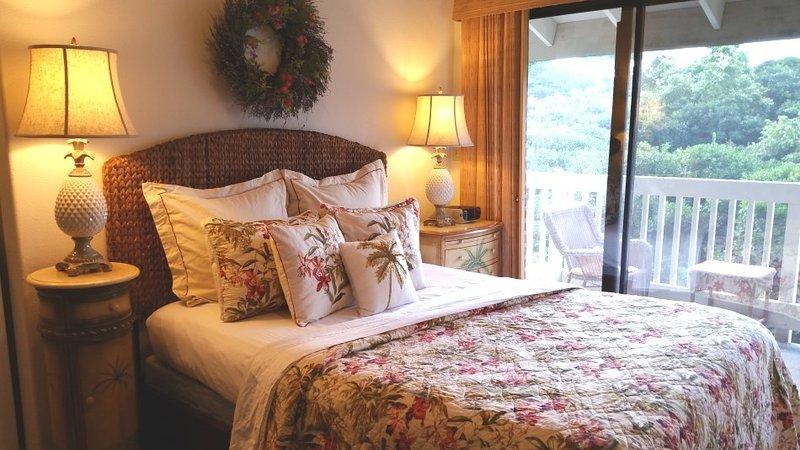 Secret Studio Queen Bed - Princeville Hale Moi 213B - Princeville - rentals