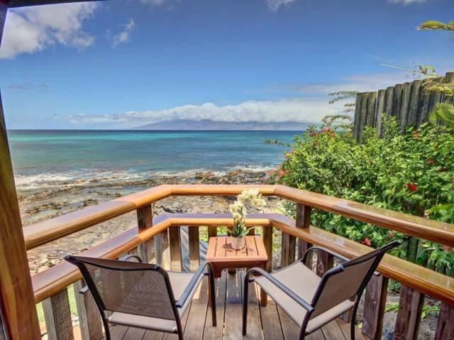 Aloha Moana Hale Ocean Front - Image 1 - Lahaina - rentals