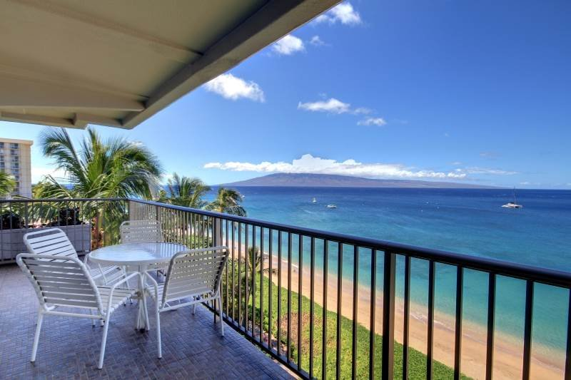 Whaler #751 Ocean Front - Image 1 - Lahaina - rentals