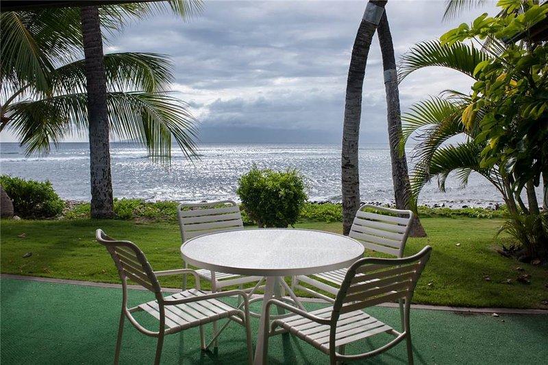 Puamana 46-3 Superior Ocean Front - Image 1 - Lahaina - rentals