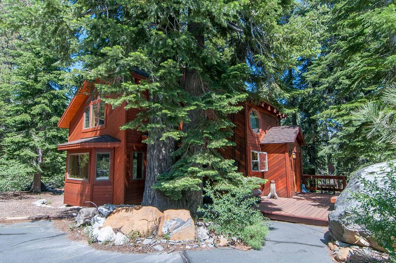 Exterior of home with a flat driveway - Knisley - Truckee - rentals