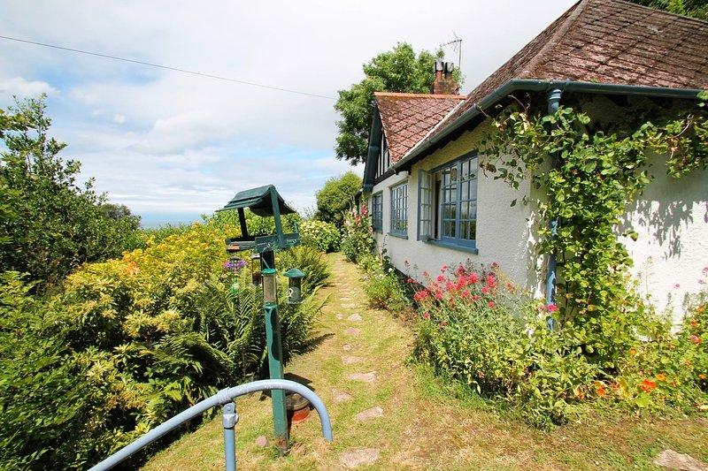 Halsecombe Cottage, Porlock - Delightful situation of the edge of Porlock - Image 1 - Porlock - rentals