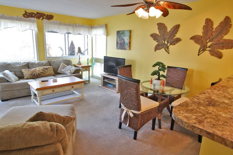Great Myrtle Beach Condo, 1 Block to the Beach! 19273 - Image 1 - Myrtle Beach - rentals