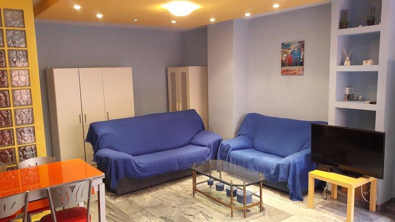 Flat with terrace in Malaga - Image 1 - Malaga - rentals