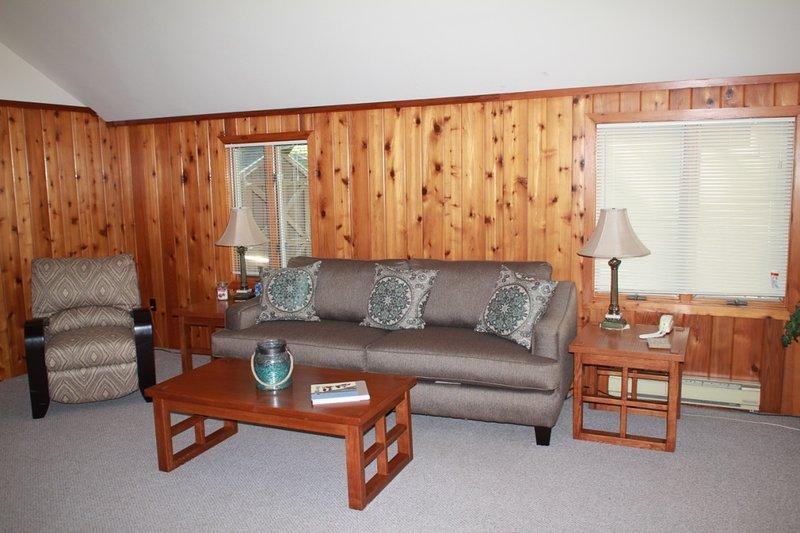 Brand new living room furniture summer 2016 - Settlers Inn - Maple City - rentals