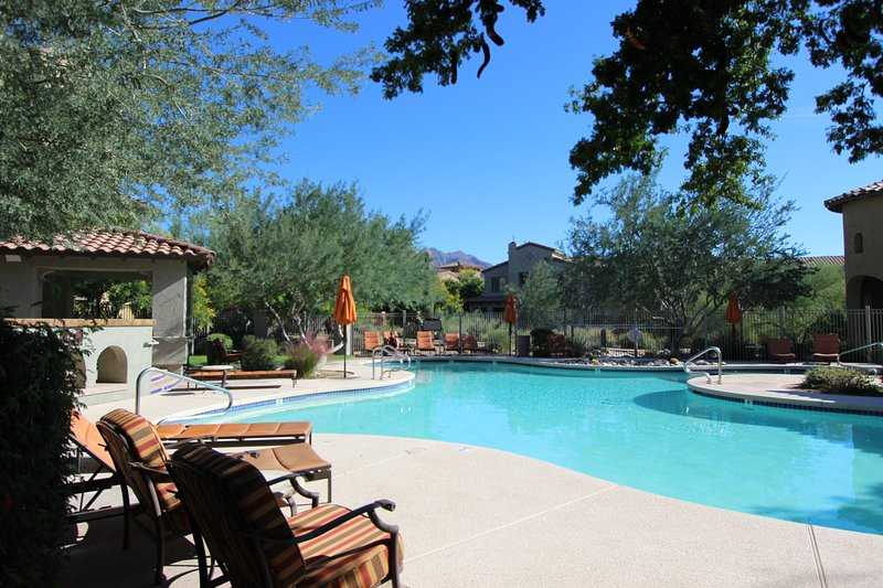 Sparkling heated pool. - DC Ranch Patio Home-One Block to Westworld - Scottsdale - rentals