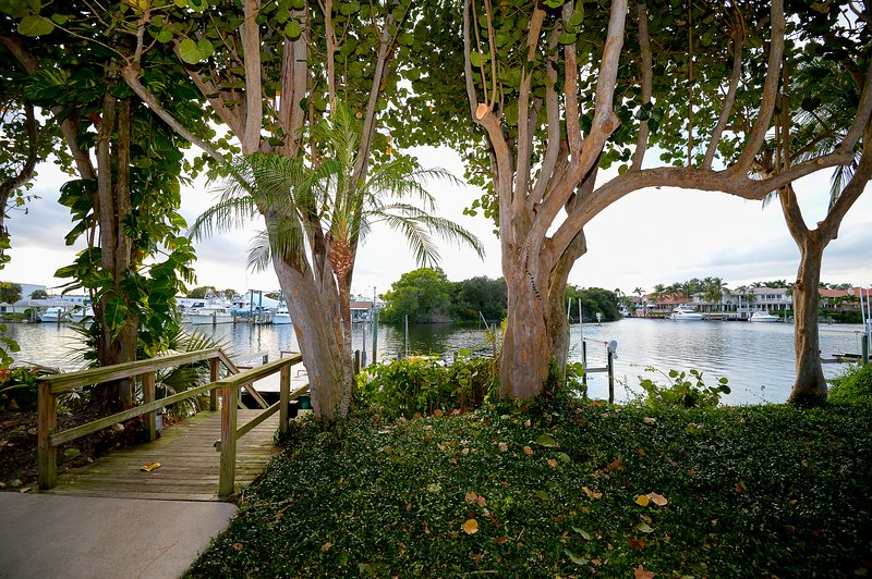 "Beautiful backyard view of intracoastal waterway. - "" The Heron"" Waterfront Luxury Vacation Rental. Escape the cold. - North Palm Beach - rentals"