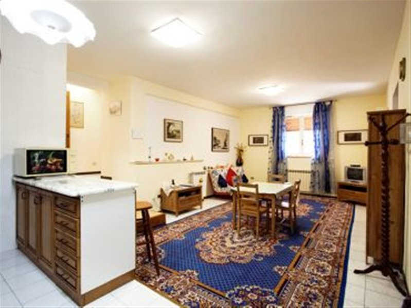 Living/Dining areas - Trastevere-Romantic Apt.100m² WiFi/Parking/Tel./2BR/2BA - Rome - rentals