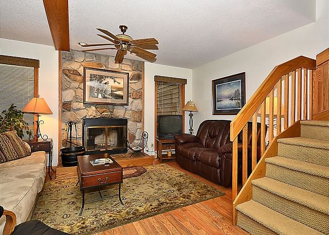 Living Room - Elegant 3 bedroom condominium located near Canaan Valley skiing destinations! - Davis - rentals