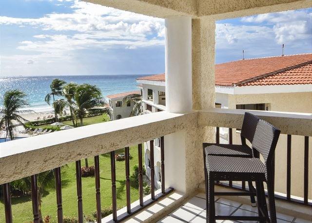 Oceanfront Center Penthouse with pool 2 bedroom in Xaman Ha (Xh7208) 35% off - Image 1 - Playa del Carmen - rentals