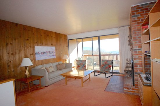 Living Room - Notchbrook Condo 10ab - Stowe - rentals