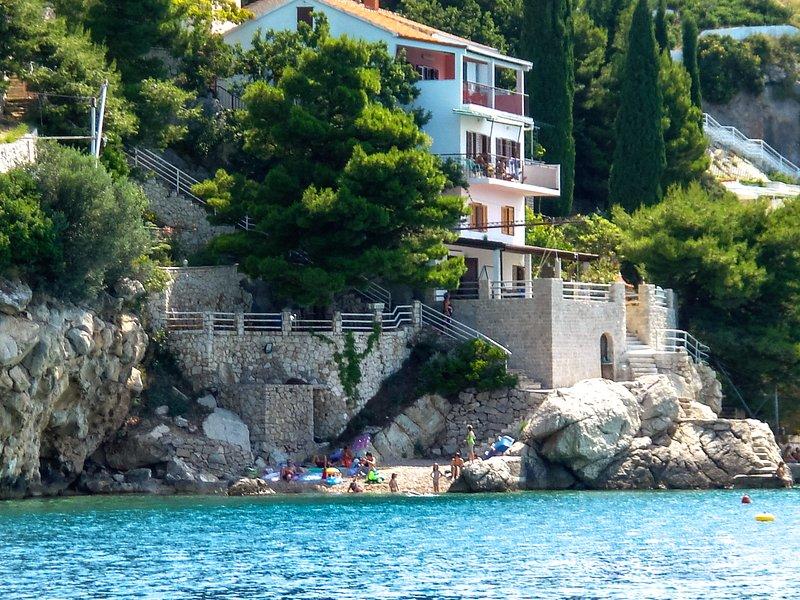 Villa Antares Pisak - Beach Villa apartament near Split A3 (2+1) - Pisak - rentals