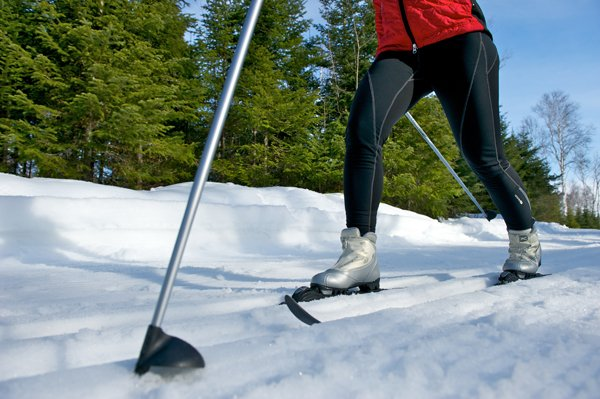 Bring your skies: Cross Country Skiing around the cottage or at The Mauricie National Park - Breathtaking waterfront cottage (Enjoy Winter Activities in Mauricie) - Saint-Jean-des-Piles - rentals