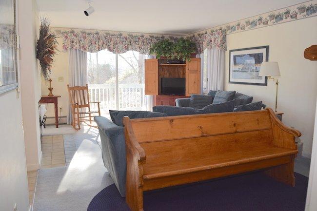 Living Room - Mountainside Resort H-203 - Stowe - rentals