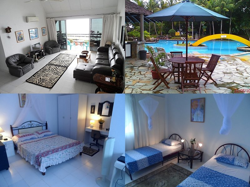 Resort family friendly apartment - BatamRooms Seafront Apartment  From $10 SGD PAX - Batam - rentals