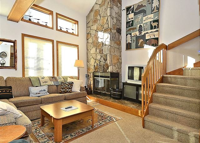 Living Room Alternate - Cute 2 bedroom condo located in the heart of Canaan Valley, WV ski country! - Davis - rentals