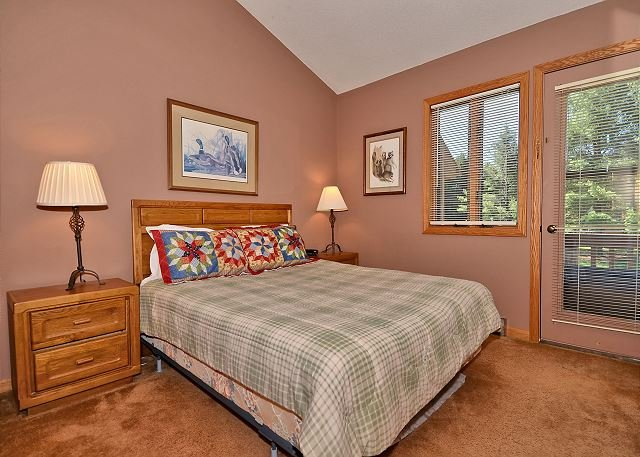 Bedroom 1 - Gypsy Haven is a 3 bedroom end unit located at Deerfield in Canaan Valley, WV - Davis - rentals