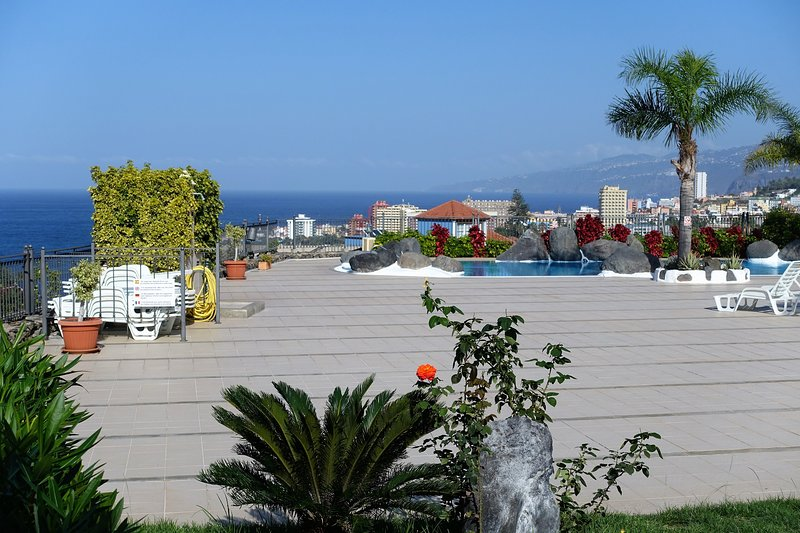 Solarium and sea views - Excellent apartment in high standing complex - Puerto de la Cruz - rentals