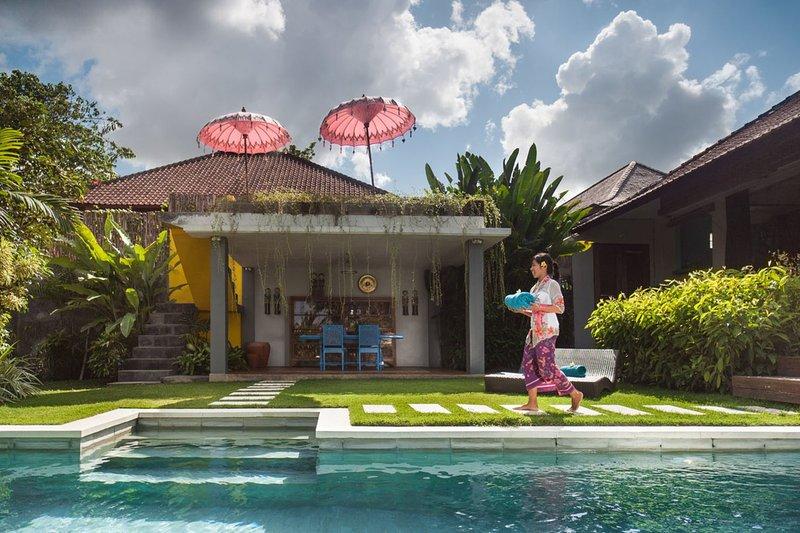 Villa pool and exterior - VILLA BUMI - Kuta - rentals