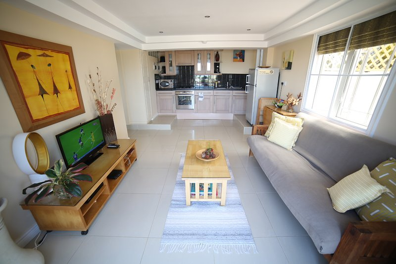Modern Style Living area with cable tv and 25 meg Wifi - Rodney Bay Suites - Gros Islet - rentals