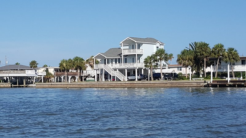 Exterior Water Shot - Blue Marlin - Galveston - rentals