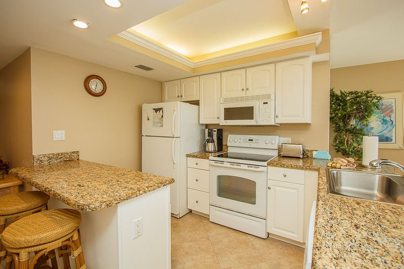 Kitchen - SeaWin 801 - Sea Winds - Marco Island - rentals