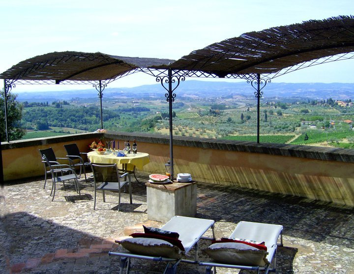Grand Villa with Private Pool Overlooking Tuscan Vineyards - Villa Giusi - Image 1 - Certaldo - rentals