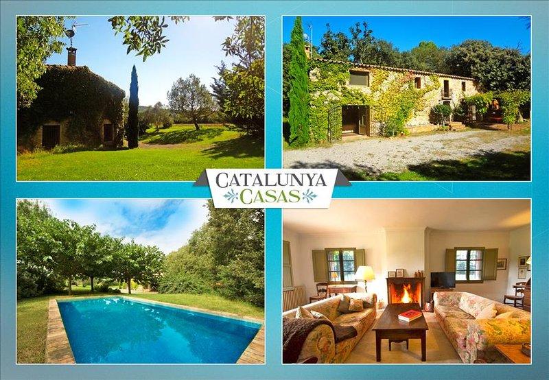 Cozy Villa Espinada for 6 guests, tucked away in the Catalonian countryside - Image 1 - Espinavessa - rentals