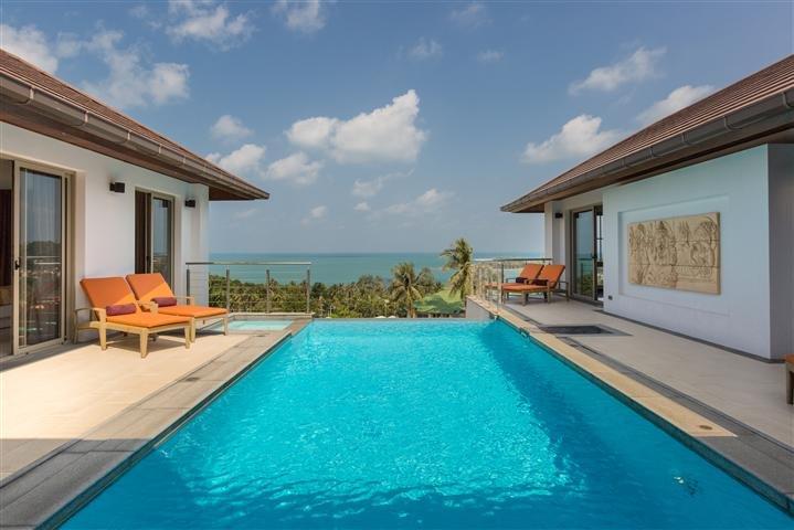Villa Ganesh - Stunning 3 Bedroom Sea View Villa - Image 1 - Choeng Mon - rentals