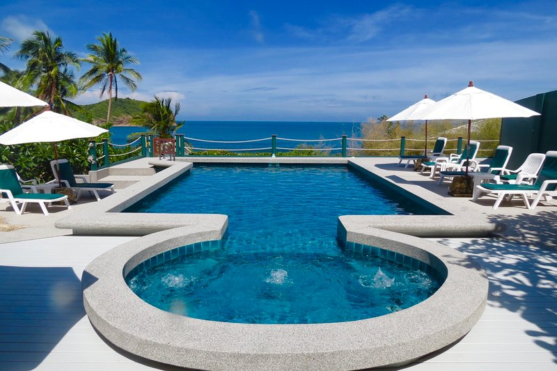 Unrestricted views pool, sea, sky - Dee Dee Villa Retreat - Koh Phangan - rentals