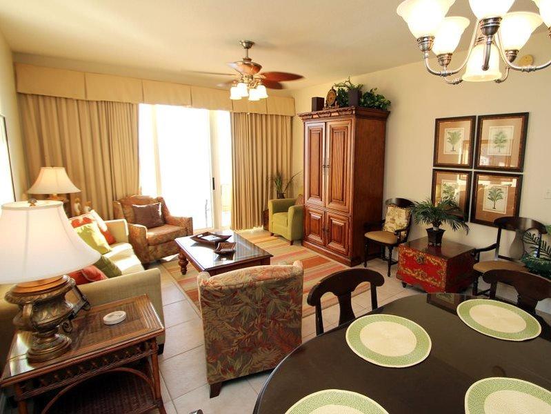 Beautiful views from 3 bedroom Calypso Condo with FREE BEACH CHAIR SERVICE! Near Pier Park!! - Image 1 - Panama City Beach - rentals