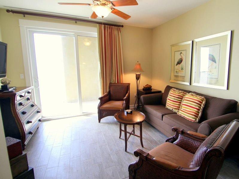Enjoy a break in this Beautiful Sixth Floor 2 Bedroom, Pet Friendly, Beachfront Condo at Grand Panama! - Image 1 - Panama City Beach - rentals