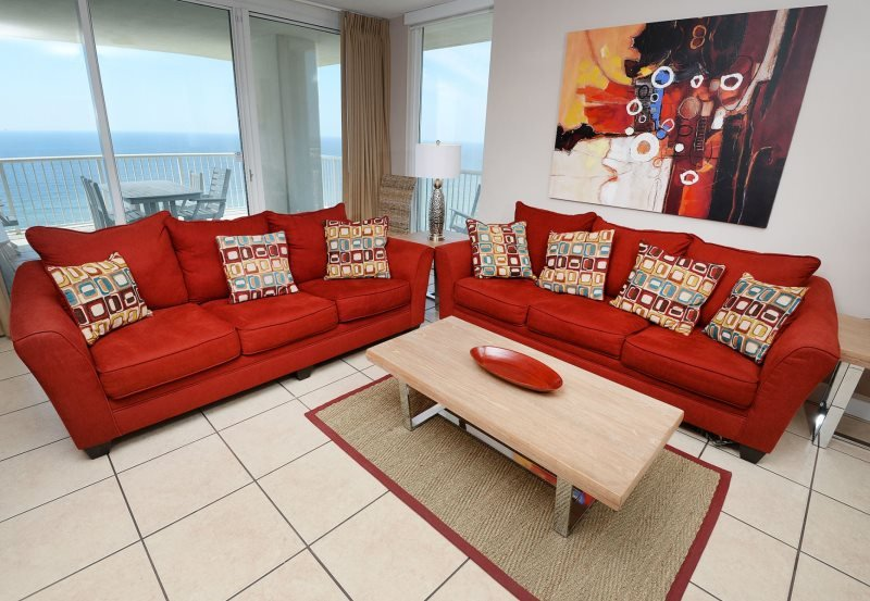 Spread Out in our Spacious 4 Bedroom Corner unit with Spectacular beachfront Views! - Image 1 - Panama City Beach - rentals