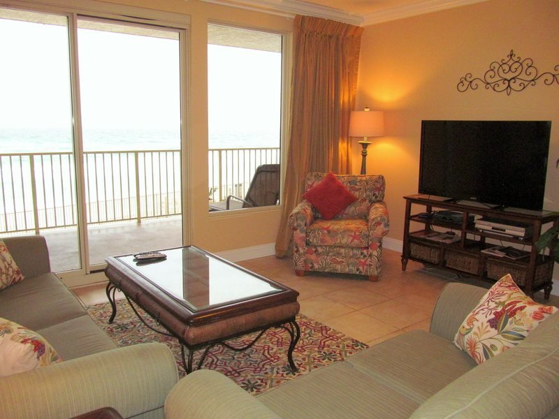 Relax in this beautiful 2nd floor condo at Treasure Island. Free Beach chairs included! - Image 1 - Thomas Drive - rentals