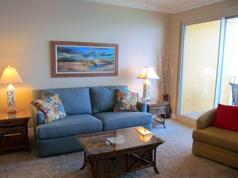 Spring Breakers welcome at this beautiful unit at Treasure Island with FREE BEACH CHAIR SERVICE! Five Golf Courses Nearby! - Image 1 - Thomas Drive - rentals