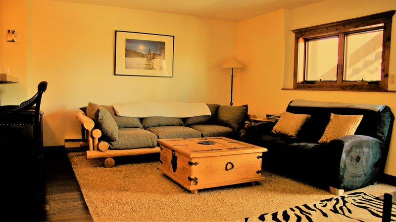Relax in the lounge after a fantastic day skiing, riding, hiking, kayaking.... - A piece of heaven, high on Peak 7 in Breckenridge, - Breckenridge - rentals