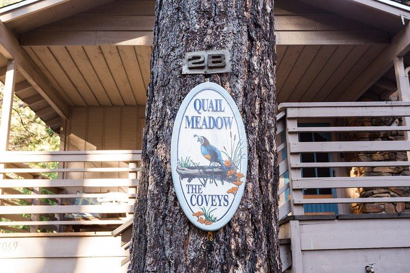 Welcome to Quail Meadow! - (2B) Quail Meadow - Wawona - rentals