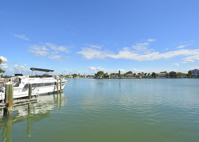 View from Dock - Great Intracoastal Family Home with Dock! Lots of new furnishings. - Indian Rocks Beach - rentals