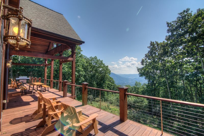 5BR/4.5BA, 5,850 SF of High Country Luxury! Big Mountain Top Views, Wooded Privacy, Hot Tub, Game Room, Adirondack-Style Comfort - Image 1 - Jefferson - rentals