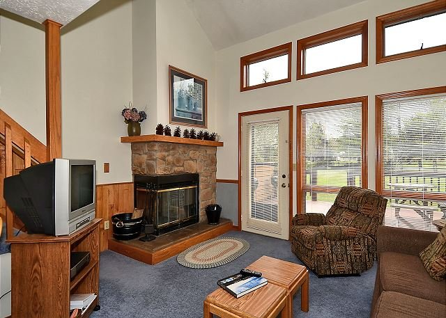 Main Level Living Room - Bear Cub Corner: 1 Bedroom Couple's Abode in the Heart of Canaan Valley, WV! - Davis - rentals