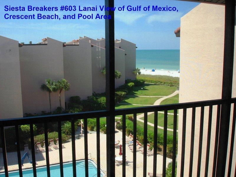 Sun, Sand & *Save 20% to 35%* Siesta Breakers #603 - Image 1 - Sarasota - rentals