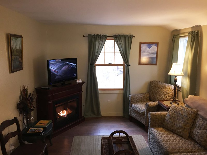 Living Area - White mountains , loon, Waterville valley, Francon - Thornton - rentals