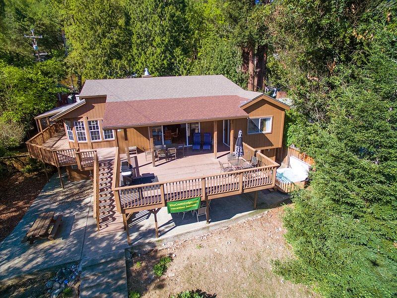 Luxury Vacation Home, Spa, Sauna, Kayaks, PingPong - Image 1 - Healdsburg - rentals