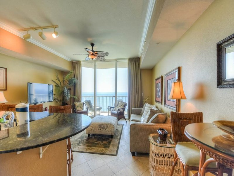 1 Bedroom Designer Unit with Amazing Sunset Views at Tidewater - Image 1 - Panama City Beach - rentals