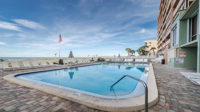 Private Pool and Hot Tub with Plenty of Chairs and Grilling Area - Breathtaking High Rise View on the Water. Updated! - Indian Shores - rentals