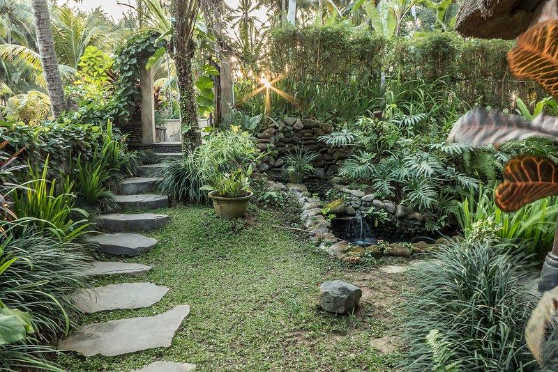 Entry Way - Villa Uma Anyar: Rumah Tamu - Ubud - rentals