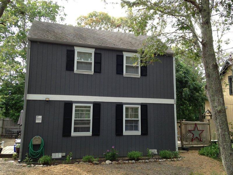 exterior front - Charming 3br Getaway in Oak Bluffs - Oak Bluffs - rentals