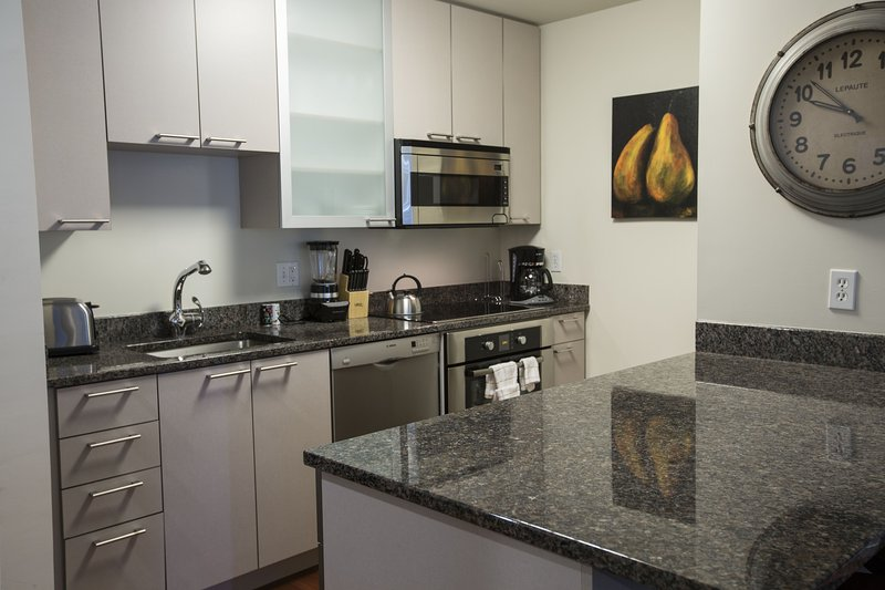 Stay Alfred Boston Vacation Rental Kitchen - Extraordinary Canal Street Apartment by Stay Alfred - Boston - rentals