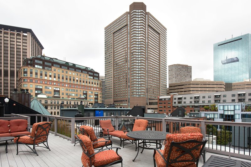 Stay Alfred Boston Vacation Rental Patio - Attractive Garrison Street Apartment by Stay Alfred - Boston - rentals