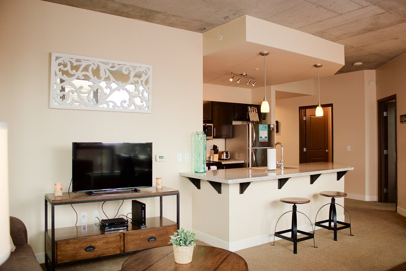Stay Alfred Portland Vacation Rentals Living Room - Beautiful Park Avenue Apartment by Stay Alfred - Portland - rentals
